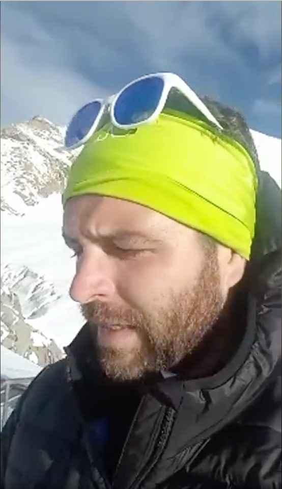 Mariano Rigo sfida monte rosa superando i tuoi limiti