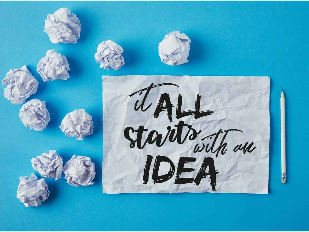 it all start with an idea