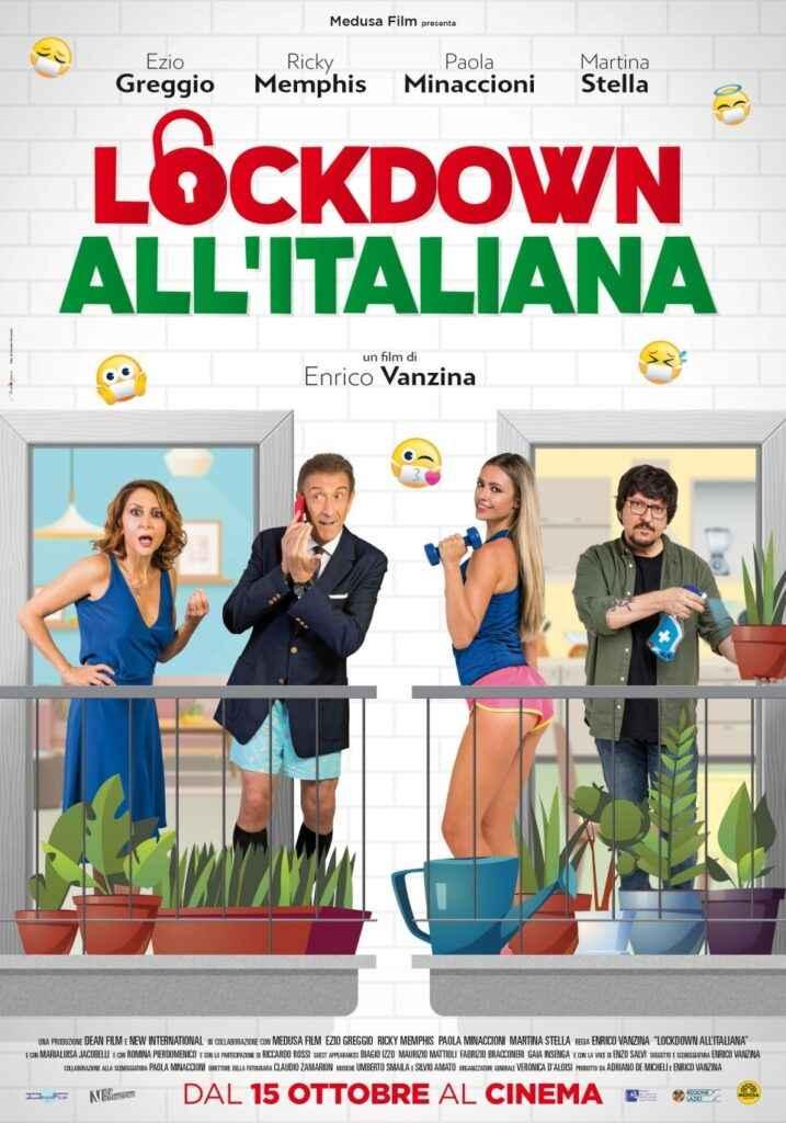 """locandina del film """"Lockdown all'italiana"""""""