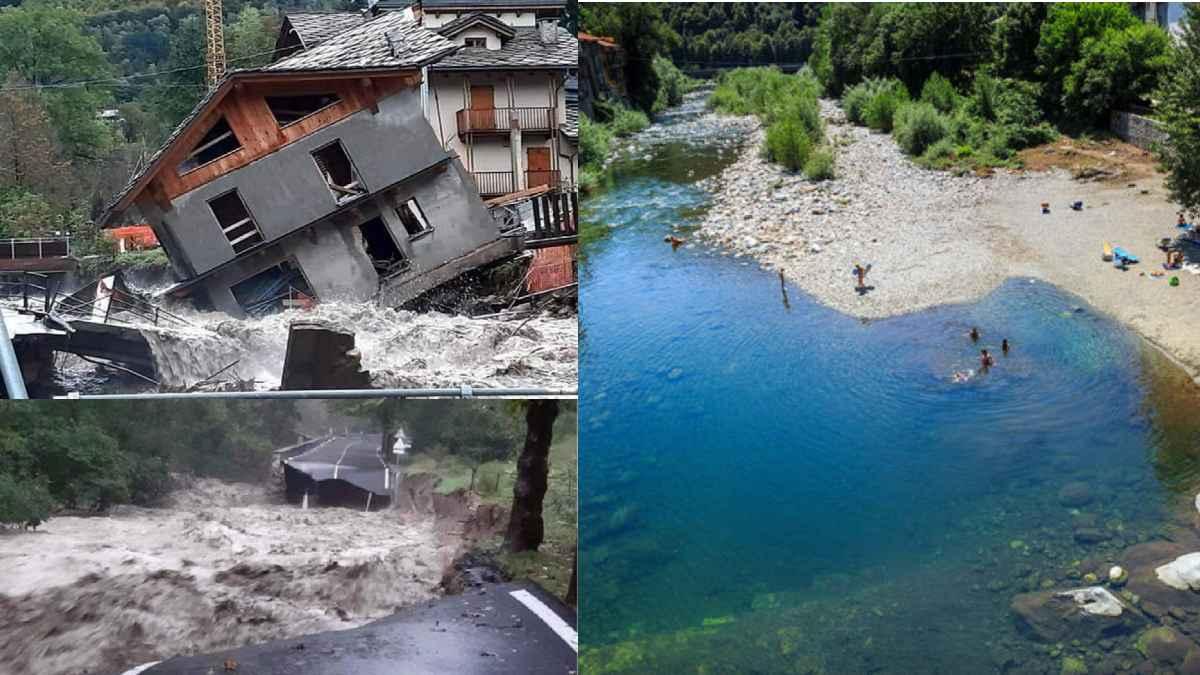 fiume sesia acqua