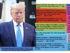 trump wall of lies