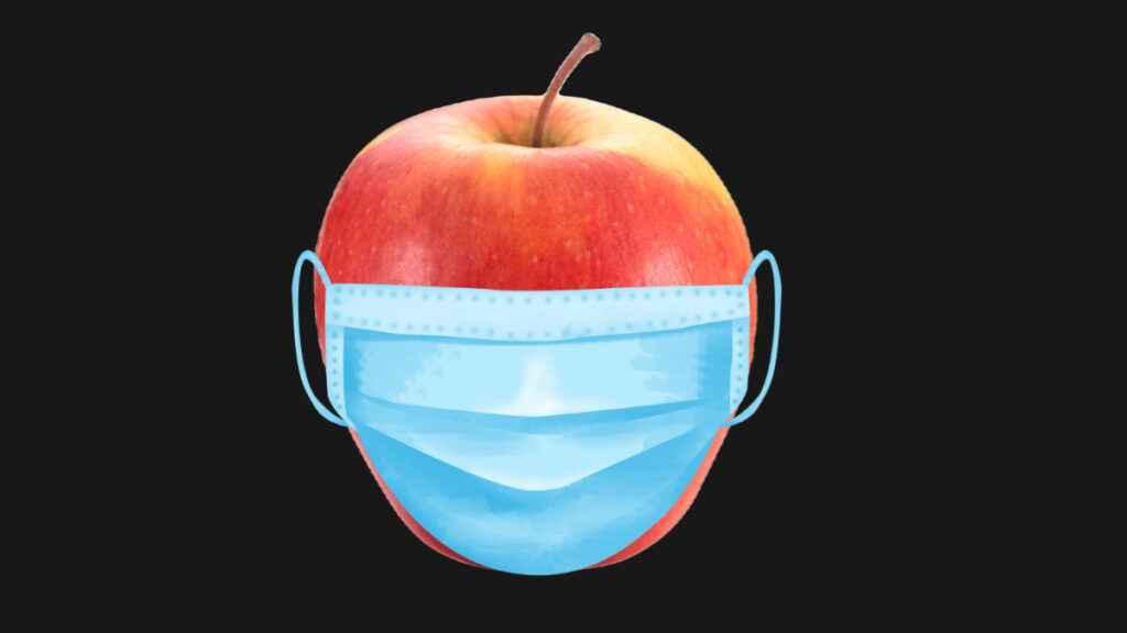 mela mascherina un dpcm al giorno